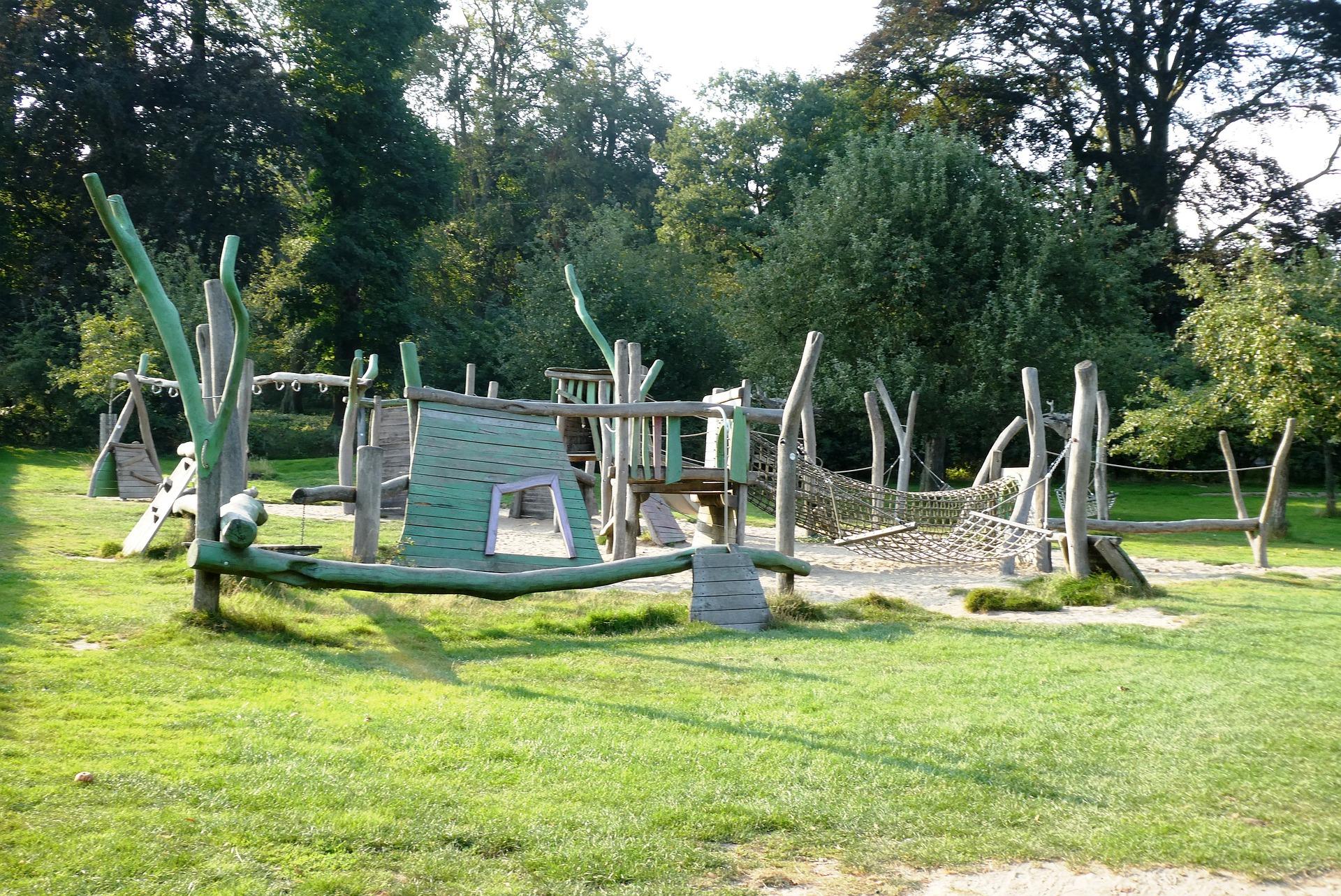 Fabriquez une aire de jeux au jardin