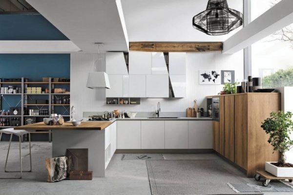 La cuisine en U, la nouvelle tendance intérieure